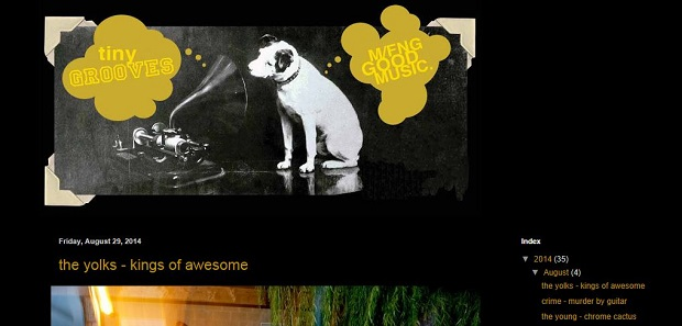 The Tiny Grooves homepage