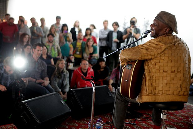 Jimmy Cliff Listening Party