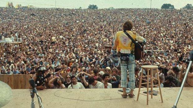 John Sebastian at Woodstock