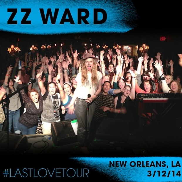 ZZ Ward Facebook