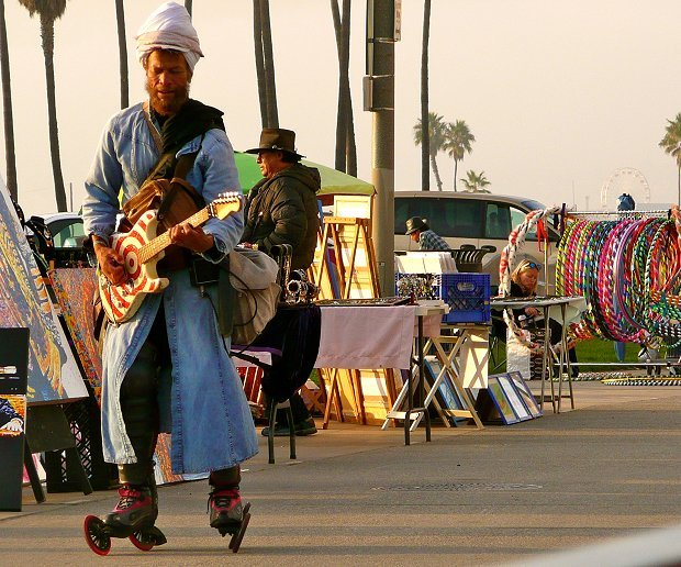 Los Angeles Busking