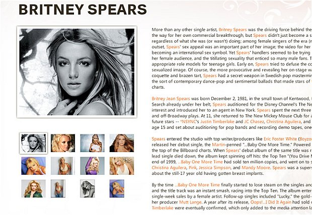 Artist bio example best resumes sonicbids blog pronofoot35fo Choice Image
