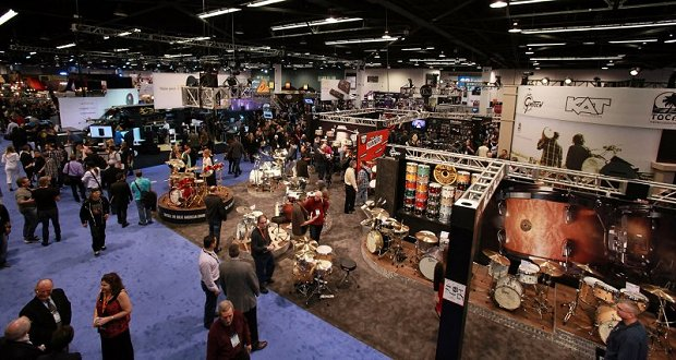Networking at NAMM