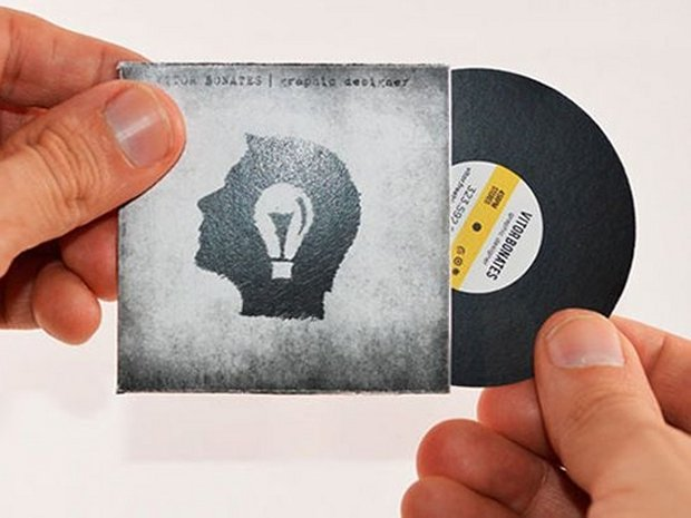 The simple guide to musician business cards reheart Gallery