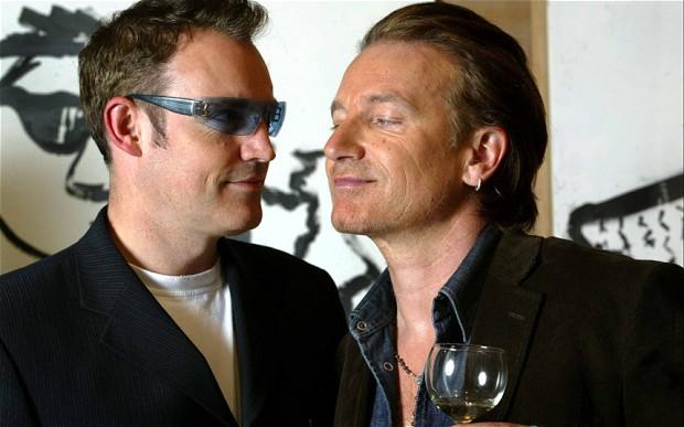 Neil McCormick and Bono