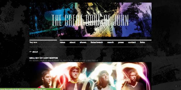 Photo courtesy thegreatbookofjohn.com
