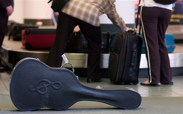 Guitar-at-an-Airport