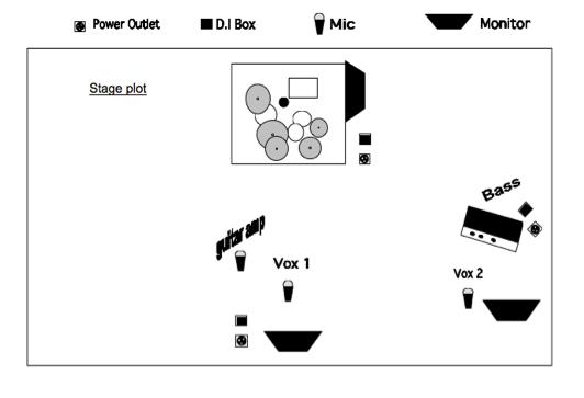 7 elements of a good live sound tech rider 4 stage plot maxwellsz