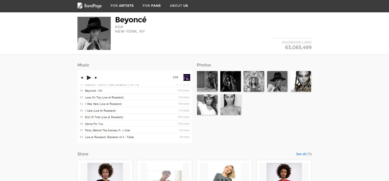 beyonce_bandpage_independent_diy_bands_free_website