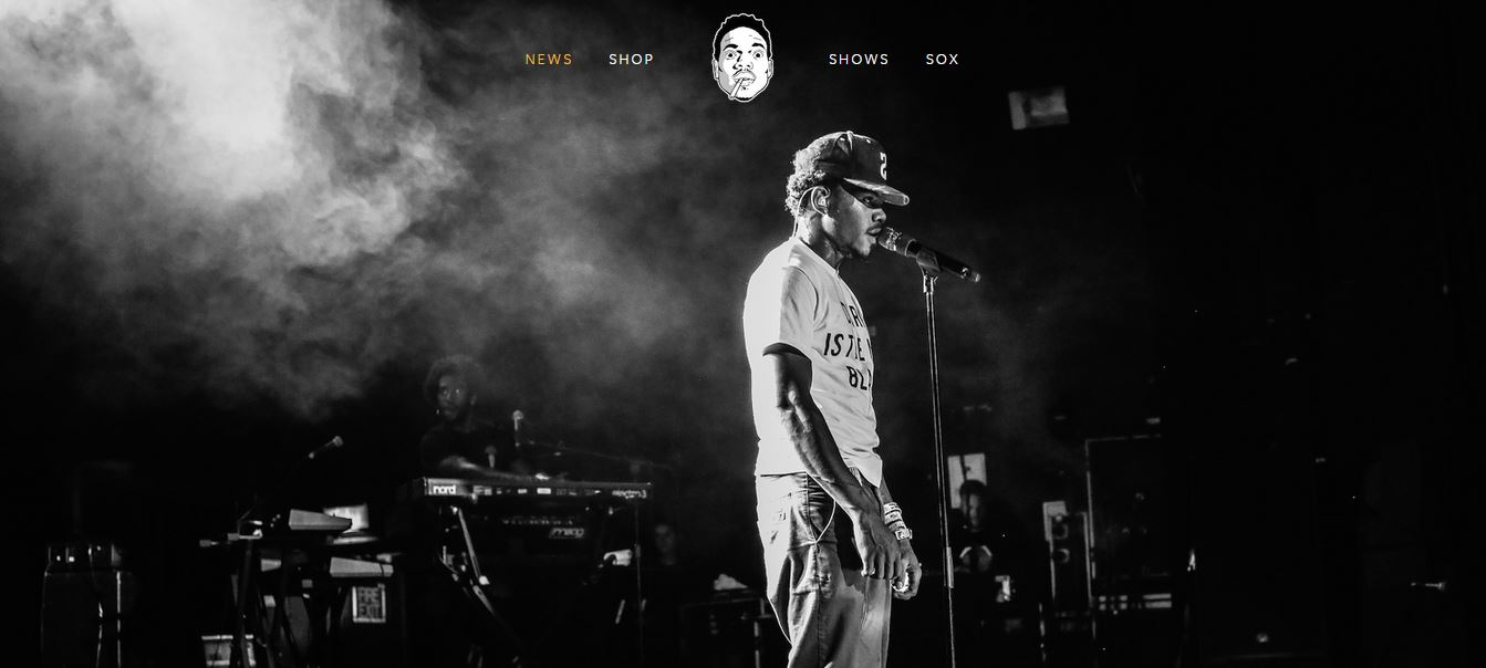 chance_the_rapper_squarespace_band_artist_website_diy_independent