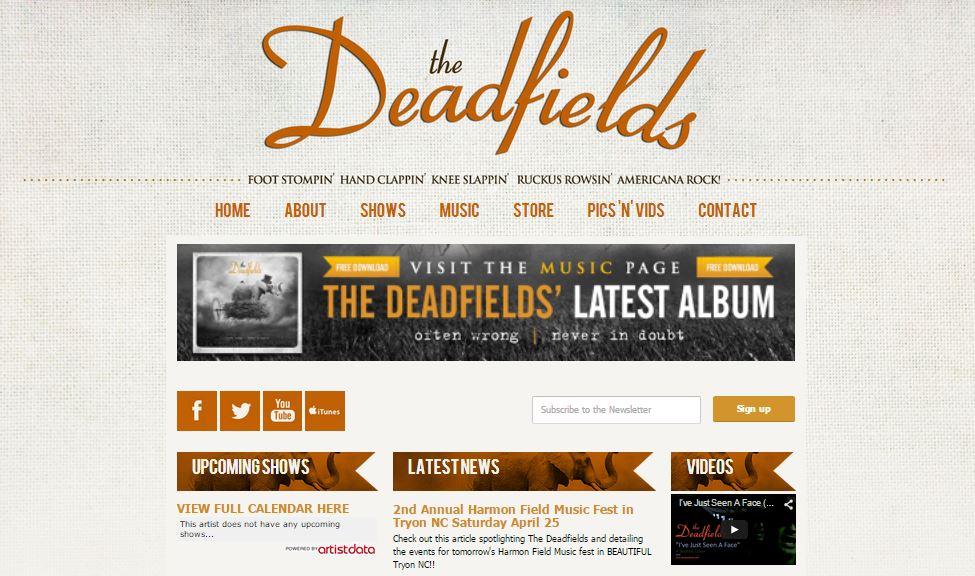 deadfields_bandzoogle_build_website_bands_artists_diy_independent