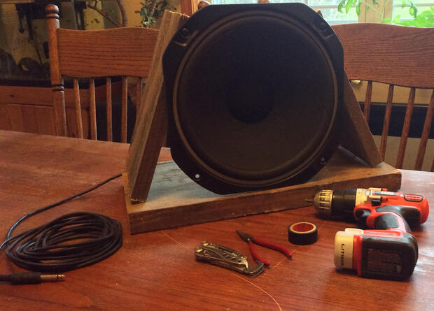 Easy Studio Hack: How to Make a DIY Microphone Using an Old