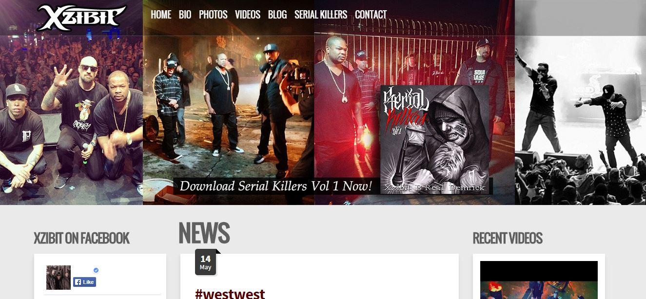xzibit_wordpress_band_website_independent_diy_artists_musicians