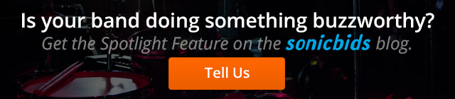 Get the Spotlight Feature on the Sonicbids Blog