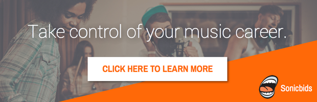 Grow your music career with Sonicbids