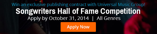 Songwriters Hall of Fame Contest