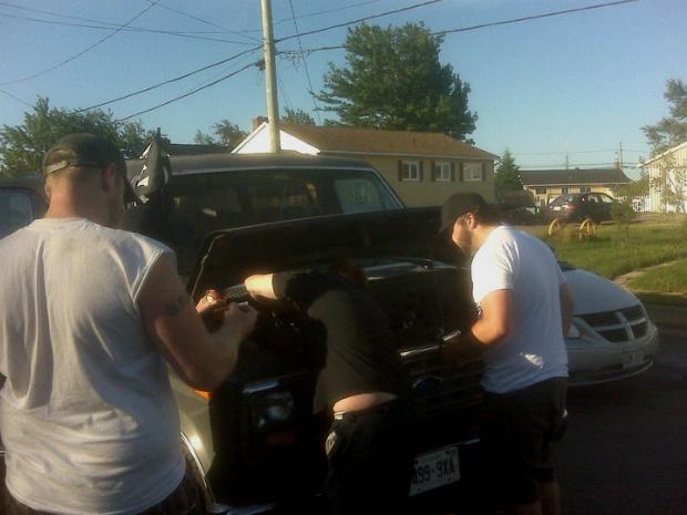 Van-breakdown